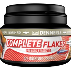 Dennerle Complete Gourmet Flakes Fish Food - 100ml