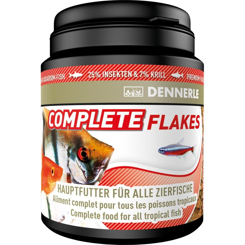 Dennerle complete flakes premium fish food 200ml pro shrimp for Cuisines completes