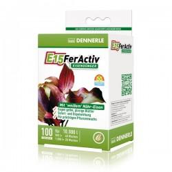 Dennerle E15 FerActiv Iron Fertilizer 10000L 100 Tablets