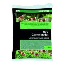 Dennerle Shrimp Gravel Java Green 2 kg
