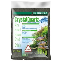Dennerle Crystal Quarts Gravel Diamond Black 5kg