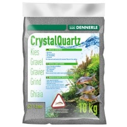 Dennerle Crystal Quarts Gravel Slate Grey 10kg
