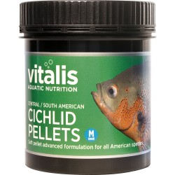 Vitalis Central/South American Cichlid Pellets M 120g