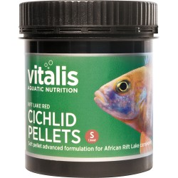 Vitalis Rift Lake Red Cichlid Pellets S 120g