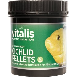 Vitalis Rift Lake Green Cichlid Pellets S 120g