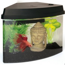 SuperFish Cascade 4 Mini Aquarium Black