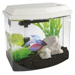 SuperFish Cascade 10 Mini Aquarium White