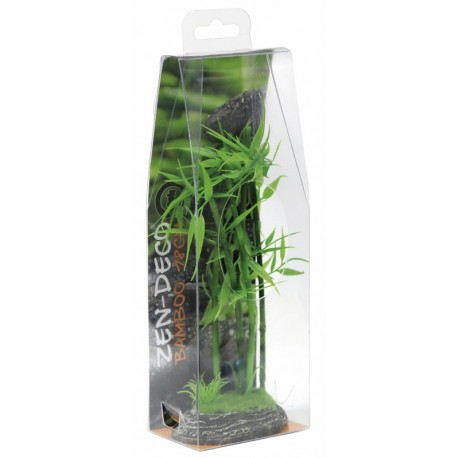 Superfish zen deco bamboo 18cm aquarium decoration for Decoration zen aquarium
