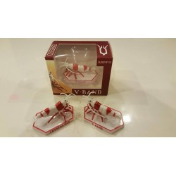 SHRIMP3D - Crystal Red - Hinomaru