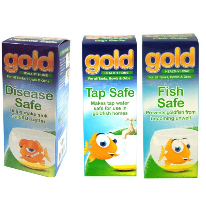 Interpet gold fish treatment set for How to make tap water safe for fish