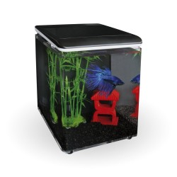 SuperFish Home 8 Aquarium Black
