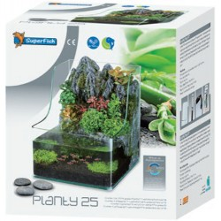 SuperFish Planty 25 - Aquarium with Aquaponics Waterfall
