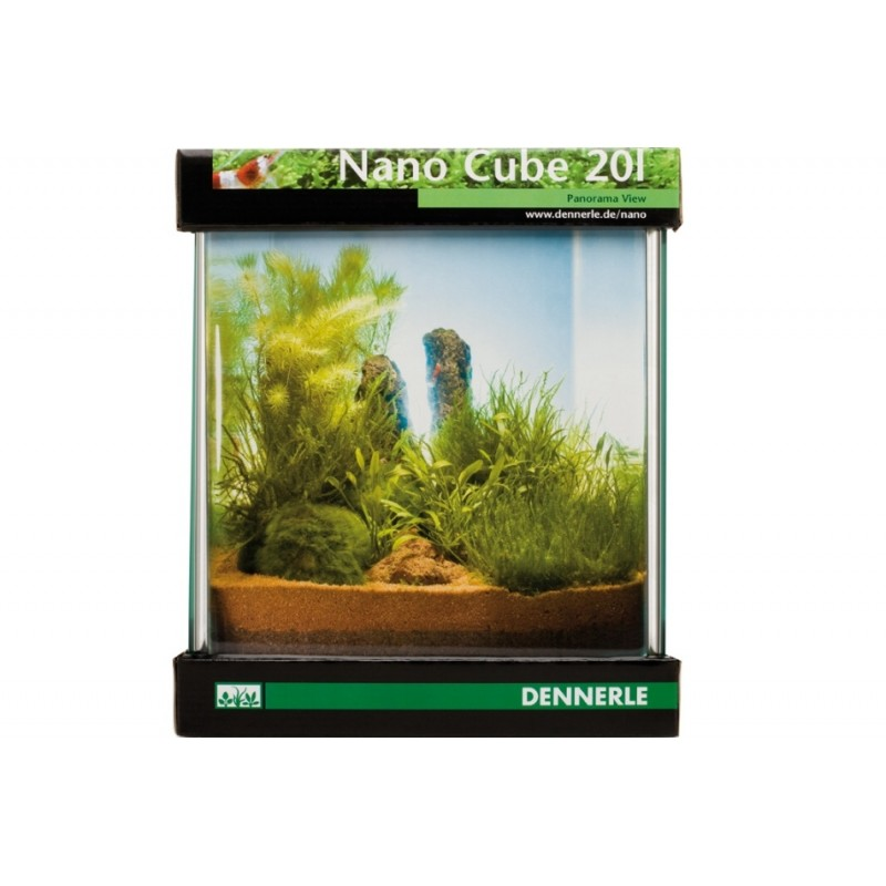 Dennerle nano cube 20l aquarium shrimp tank pro shrimp uk for Aquarium nano cube