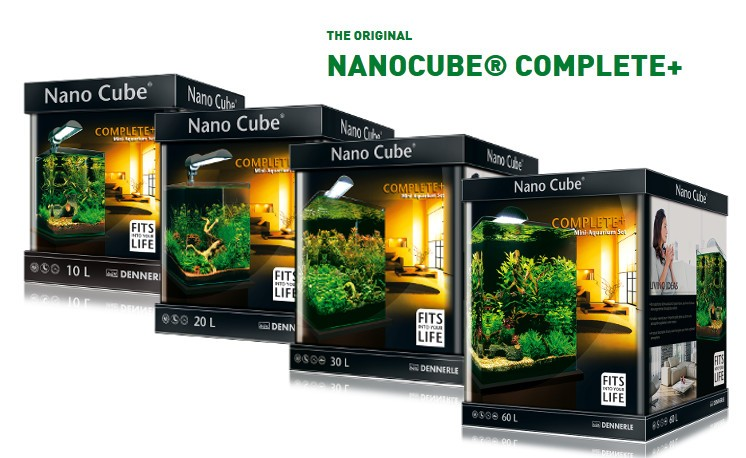 Nano Cube Aquariums from Dennerle