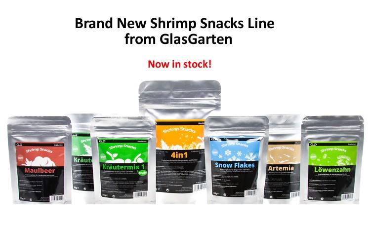 Glasgarten Shrimp Snacks