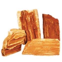 Red wood Lines Rock (per kg)