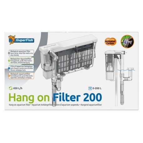 Superfish Hang on Filter 200