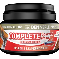 Dennerle Complete Gourmet Menu Fish Food - 100ml Bag