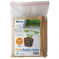 Superfish Pond Basket Cloths 6x 60x60cm