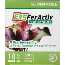Dennerle E15 Iron Fertilizer 1000L 10 Tablets