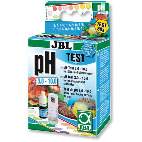 JBL pH Test Kit 3.0-10.0