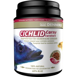 Dennerle Cichlid Carny Fish Food - 1000ml