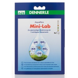 Dennerle AquaRico Mini-Lab 5in1 Water Test Strips