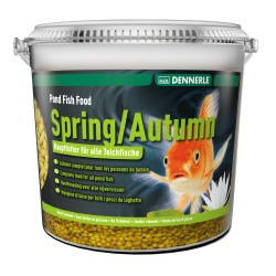 Dennerle Spring/Autumn Pond Fish Food 5L