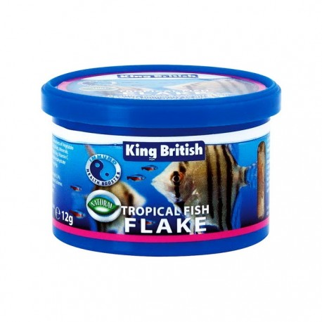 King British Tropical Fish Flake 12g