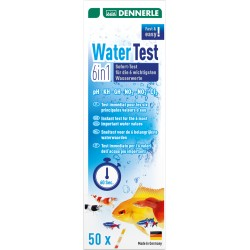 Dennerle Water Test 6in1 - 50 Test Strips