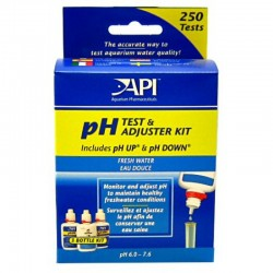 API Freshwater pH Test & Asjuster Kit Deluxe