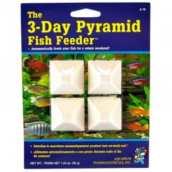 API 3 Day Pyramid Fish Feeder