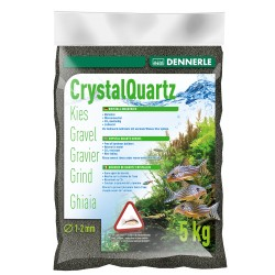 Dennerle Quartz Gravel Diamond Black 5kg