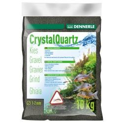 Dennerle Crystal Quarts Gravel Diamond Black 5kg