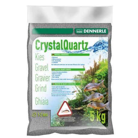 Dennerle Crystal Quarts Gravel Slate Grey 5kg