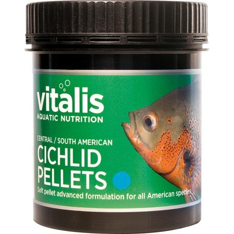 Vitalis Central/South American Cichlid Pellets S 120g