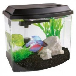 SuperFish Cascade 10 Mini Aquarium Black