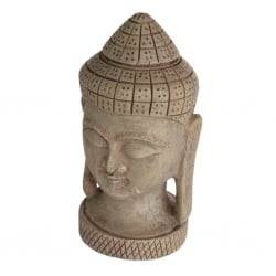 Superfish Zen Deco Buddha Face Ornament