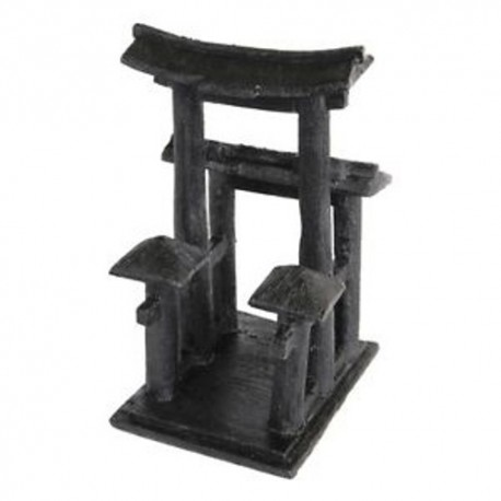 Superfish Zen Deco Temple Ornament Black
