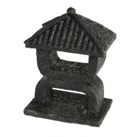 Superfish Zen Deco Mini Temple Ornament Black