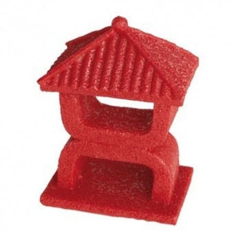 Superfish Zen Deco Mini Temple Ornament Red