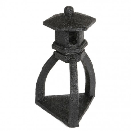 Superfish Zen Deco Pagoda Ornament Black