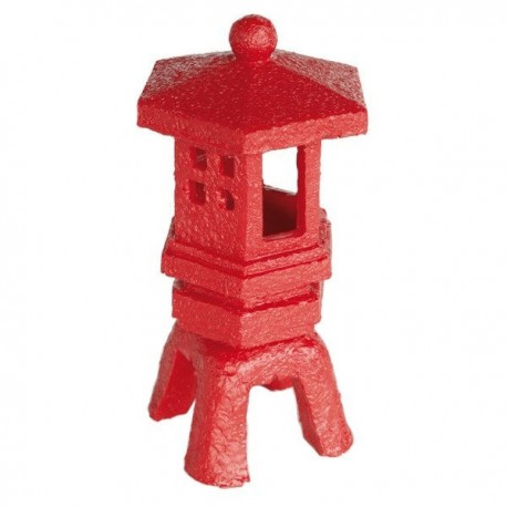 Superfish Zen Deco Lantern Ornament Red