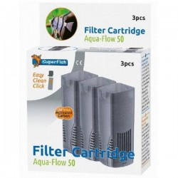 SuperFish Aqua-Flow 50 Easy Click Cartridge