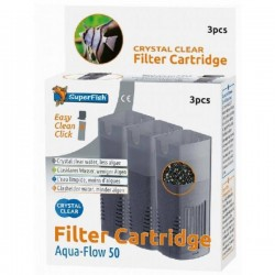 SuperFish Aqua-Flow 50 Crystal Clear Cartridge
