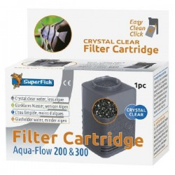 SuperFish Aqua-Flow 200/300 Crystal Clear Cartridge