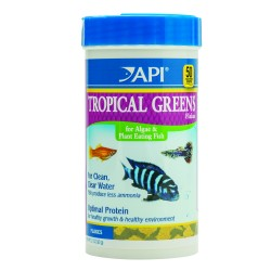 API Tropical Greens Flakes 60g