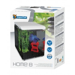 SuperFish Home 8 Aquarium White