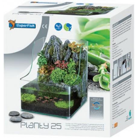 SuperFish Planty 25 - Aquarium with Aquaponics Waterfall