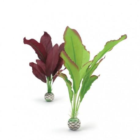 biOrb Green & Purple Silk Plant Pack 29cm